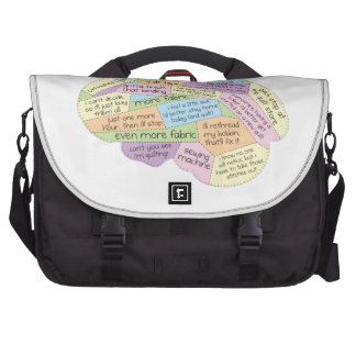 Quilter's Brain Commuter Bags