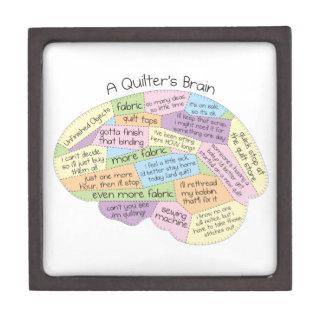 Quilter's Brain Jewelry Box