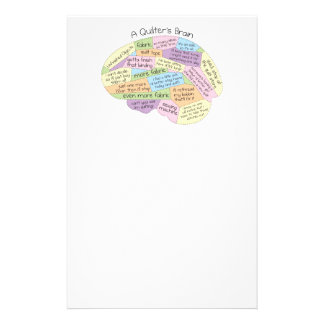 Quilter's Brain Stationery