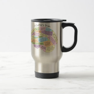 Quilter's Brain Travel Mug