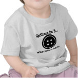 Quilters do it... with little pricks. tee shirts