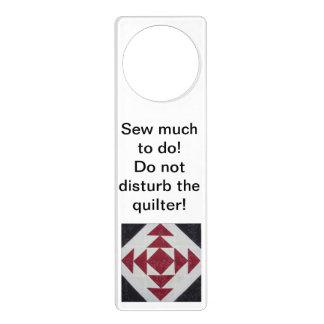 Quilter's Door Hanger