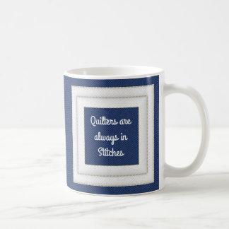 Quilters está siempre en puntadas taza de café