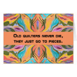 quilters humor greeting card