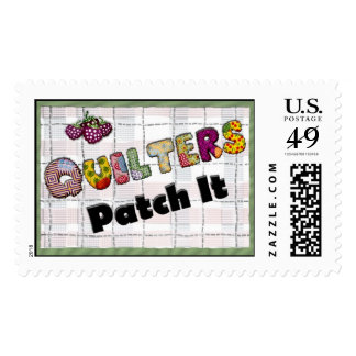 Quilters Patch It - Cute Postage