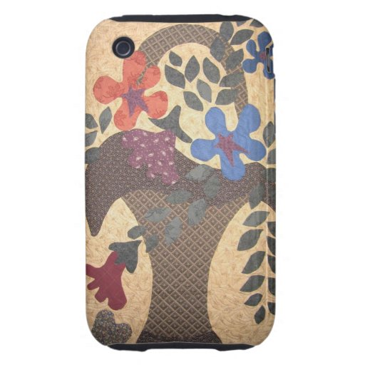 Quilters phone basket tough iPhone 3 covers