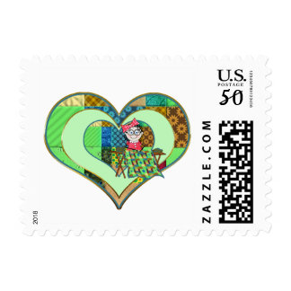 QUILTER'S POSTAGE STAMPS - Melody Quilting Collect