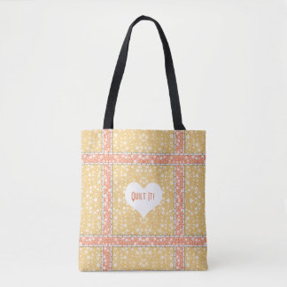 Quilter's Pretty Summer Garden Tote Bag