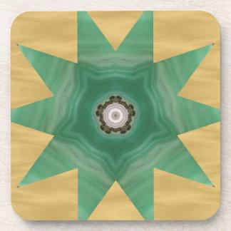 Quilter's Star Design! Beverage Coasters