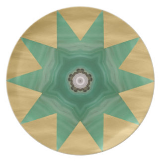 Quilter's Star Design! Dinner Plate