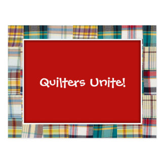 Quilters United Save the Date Postcard
