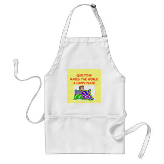 quilting adult apron