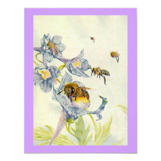 QUILTING BEE BUSY BEE INVITE  ~ EZ TO CUSTOMIZE