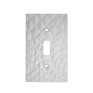 Quilting Bright Light Switch Covers