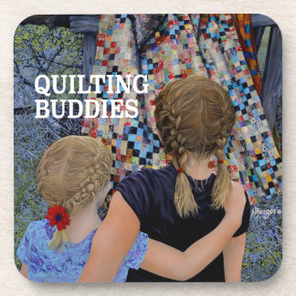Quilting Buddies by Steve Berger Coaster set of 6