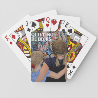 Quilting Buddies by Steve Berger Playing Cards