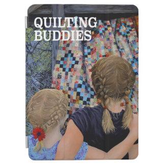 Quilting Buddies Original Painting iPad Air Cover