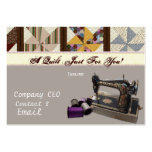 Quilting Business Card