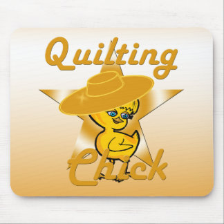 Quilting Chick #10 Mouse Pad