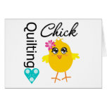 Quilting Chick Card
