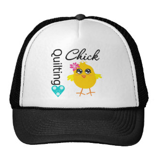 Quilting Chick Mesh Hats