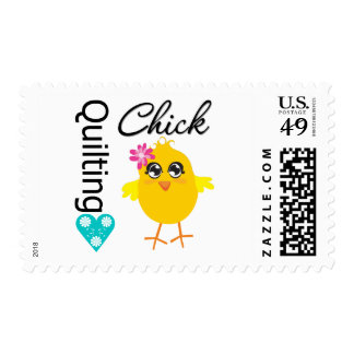 Quilting Chick Stamp