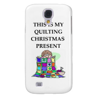 quilting christmas present galaxy s4 covers