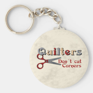 Quilting Corners Keychain