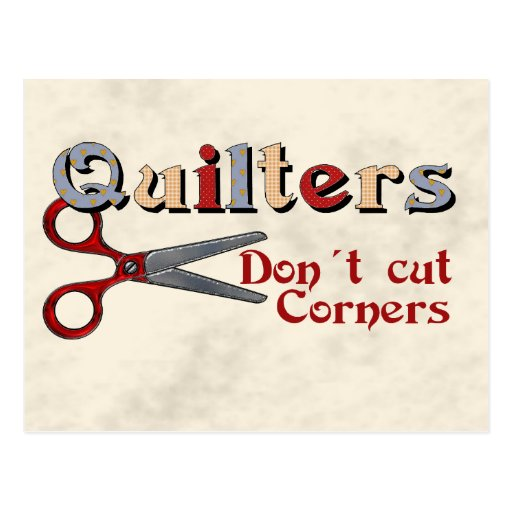 Quilting Corners Post Card