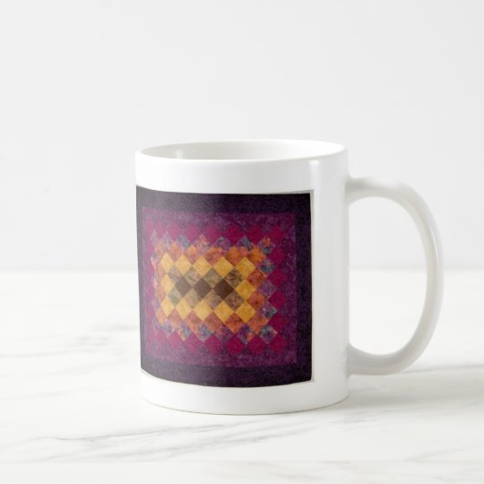 Quilting Design Coffee Mug