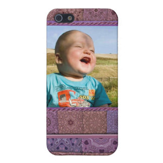 Quilting Enthusiast Photo Template iPhone SE/5/5s Case