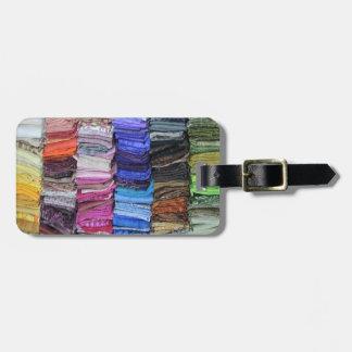 Quilting Fabric Stash Bag Tag