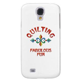 Quilting Fabulous Fun Galaxy S4 Cases