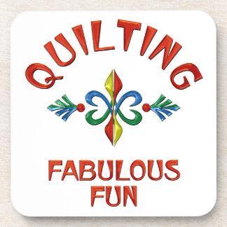 Quilting Fabulous Fun Drink Coaster