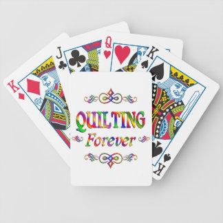 QUILTING FOREVER BICYCLE PLAYING CARDS