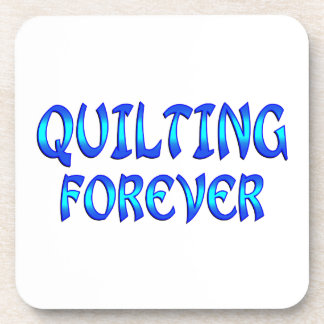 Quilting Forever Drink Coasters