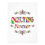 Quilting Forever Custom Announcements