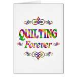 QUILTING FOREVER GREETING CARDS