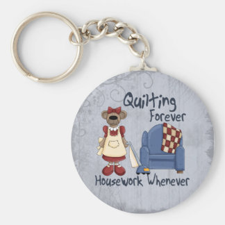 Quilting Forever Keychain