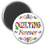 QUILTING FOREVER MAGNET