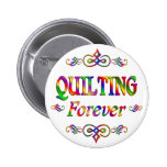 QUILTING FOREVER PIN