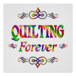 Quilting Forever Posters