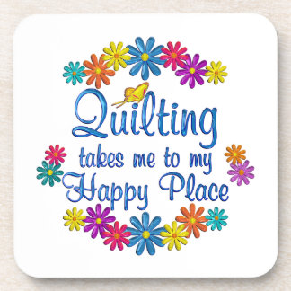 Quilting Happy Place Coasters