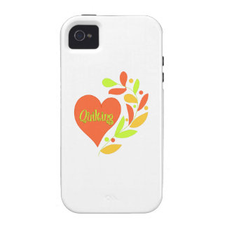 Quilting Heart iPhone 4/4S Case