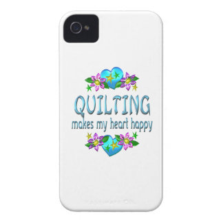 Quilting Heart Happy Case-Mate iPhone 4 Cases