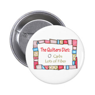 QUILTING HUMOR BUTTON
