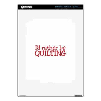 Quilting iPad 3 Skin