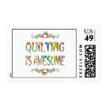 Quilting is Awesome Stamp