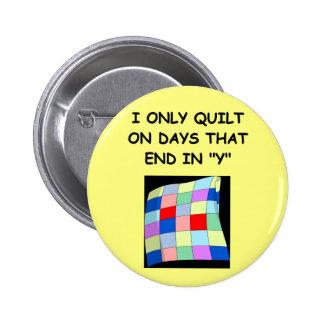 quilting joke button
