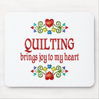 Quilting Joy Mouse Pad